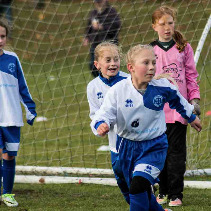 Hitchin Belles U11 Blues v Garston Jaguars November 2016