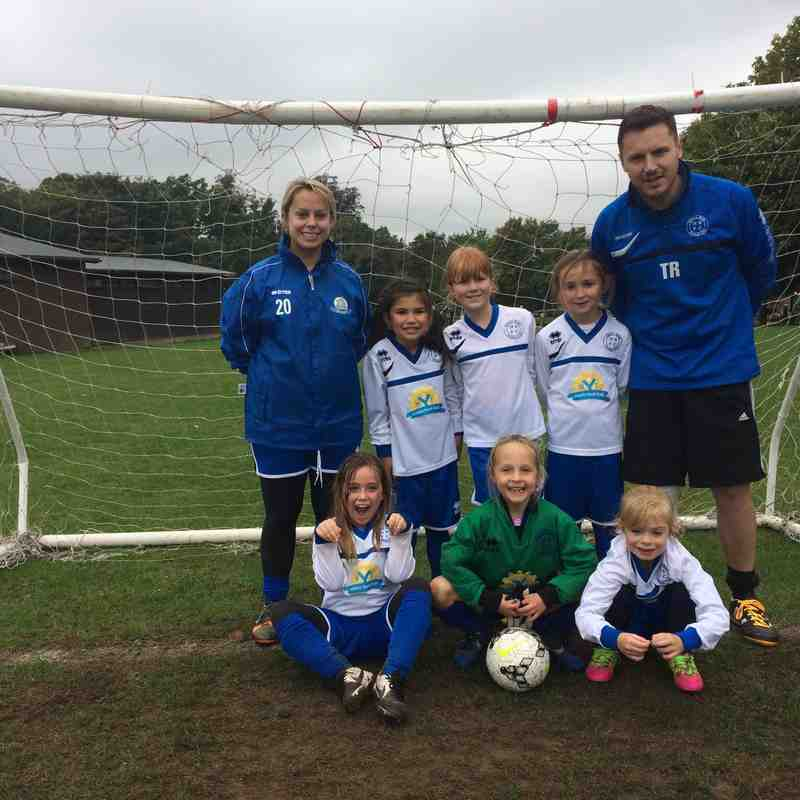 Under 8`s v Evergreen - Sat  8 Oct 2016