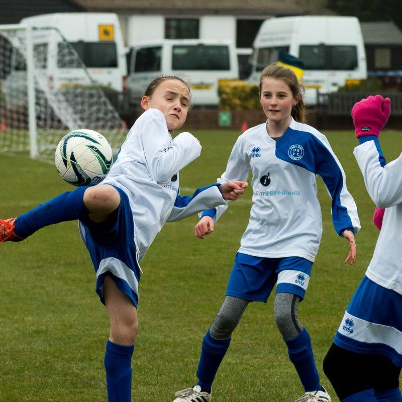 Hitchin Belles U11 Whites v Garston Lions U11`s