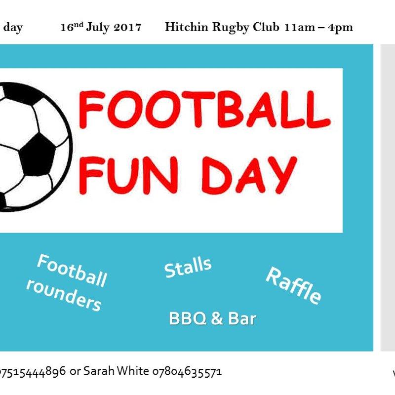 FOOTBALL FUN DAY!
