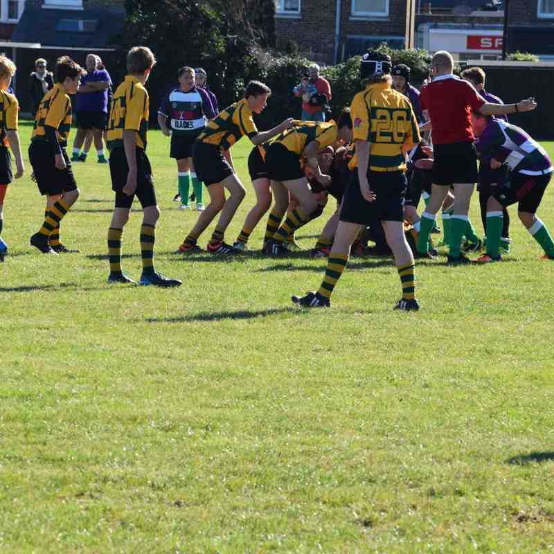 At Bognor (score 28-17 win for Shoreham RFC)  09th October 2016
