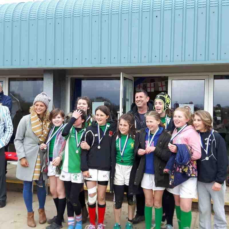 Girls U13s Warlingham 7 Presentation