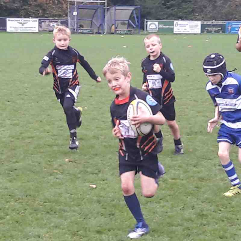 U9's vs Leek (15th Oct 2017)