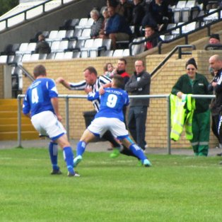 Flint come back from one goal down to seal win