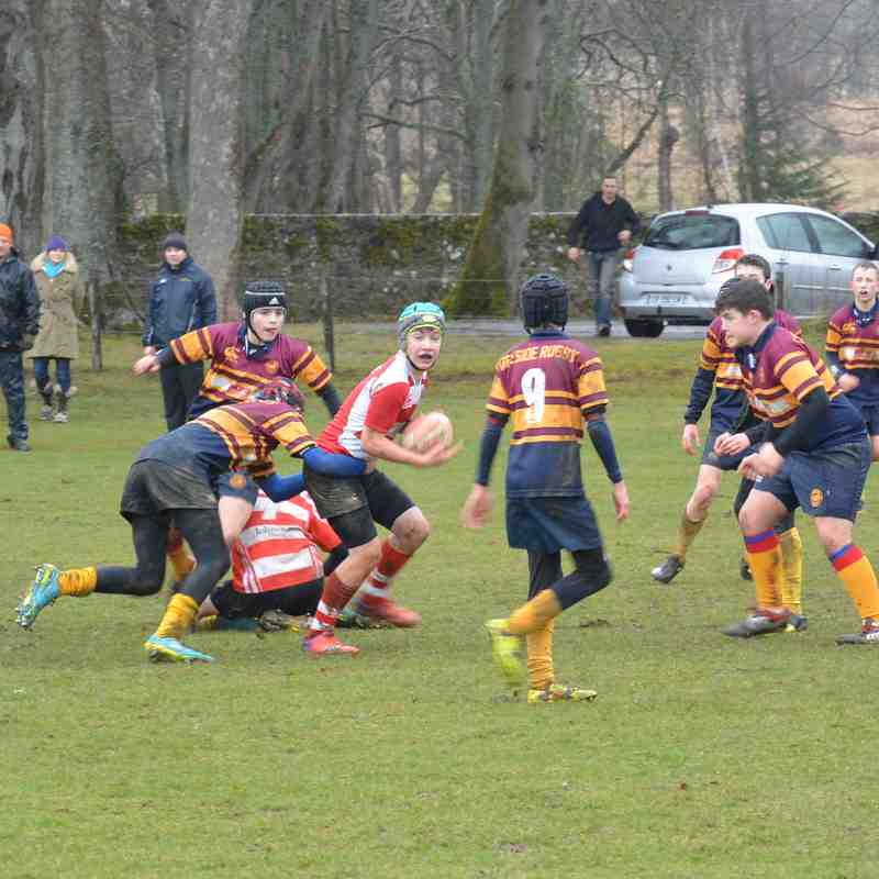 Deeside U14 v Huntly 5/3/17