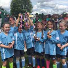 Congratulations to U10 Memphis Belles - Thames Valley youth tournament winners