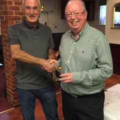 Jim Hill receives Reading Referee Association Assistant of the Year Award