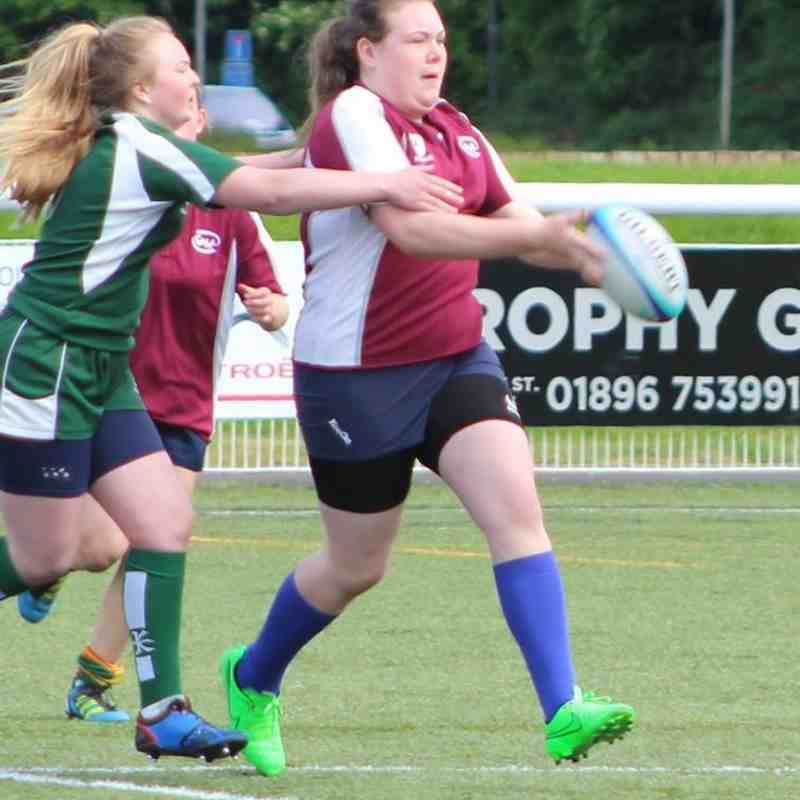 Gala Vixens v Lothian Girls - Fri  3 Jun 2016