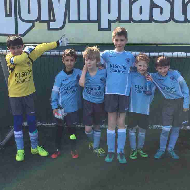 Match Report for U8's Tornadoes 25th March 2017