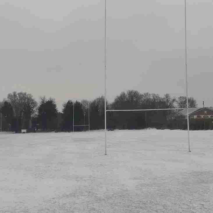 Rugby - Saturday 3rd March