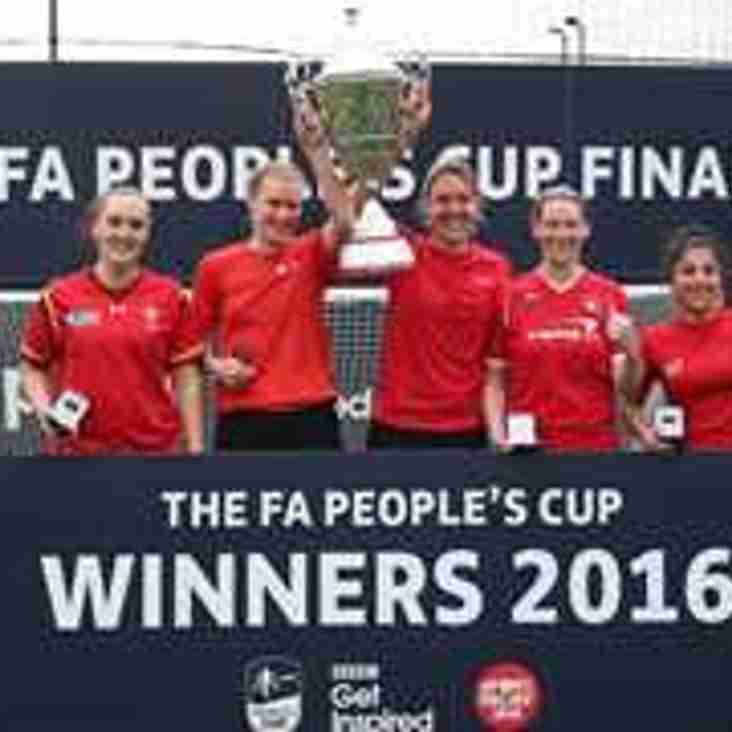 Have you entered the FA People's Cup?