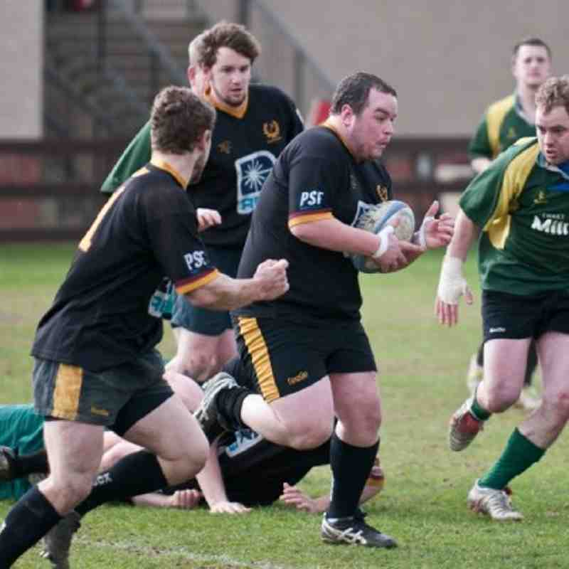 Pythons v Huntly 9/4/11