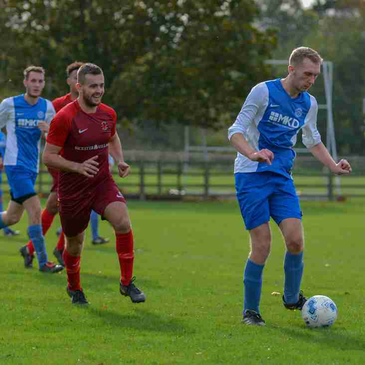 Unbeaten run comes to an end with defeat away to Bicester