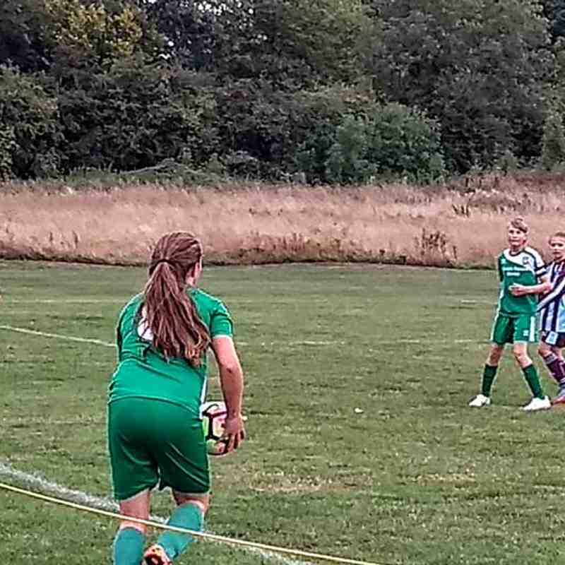 U14 v Woburn & Wavendon Lionesses - 8th Sept 2018