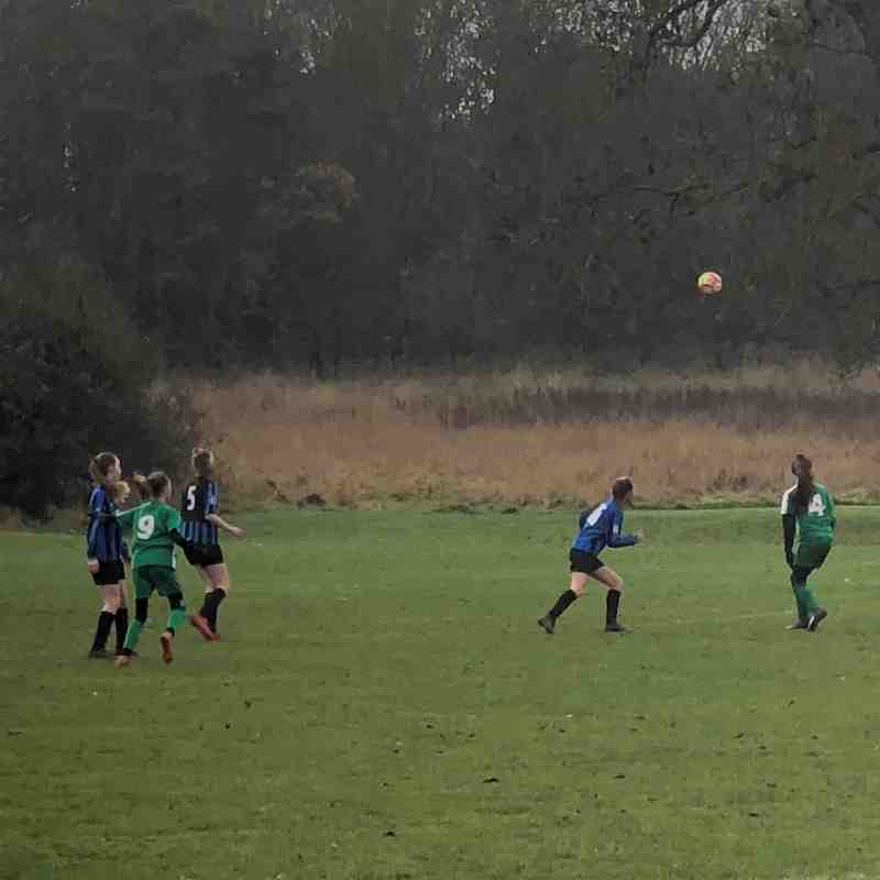 U14 v Berkhampstead Raiders Sat 1st Dec 2018