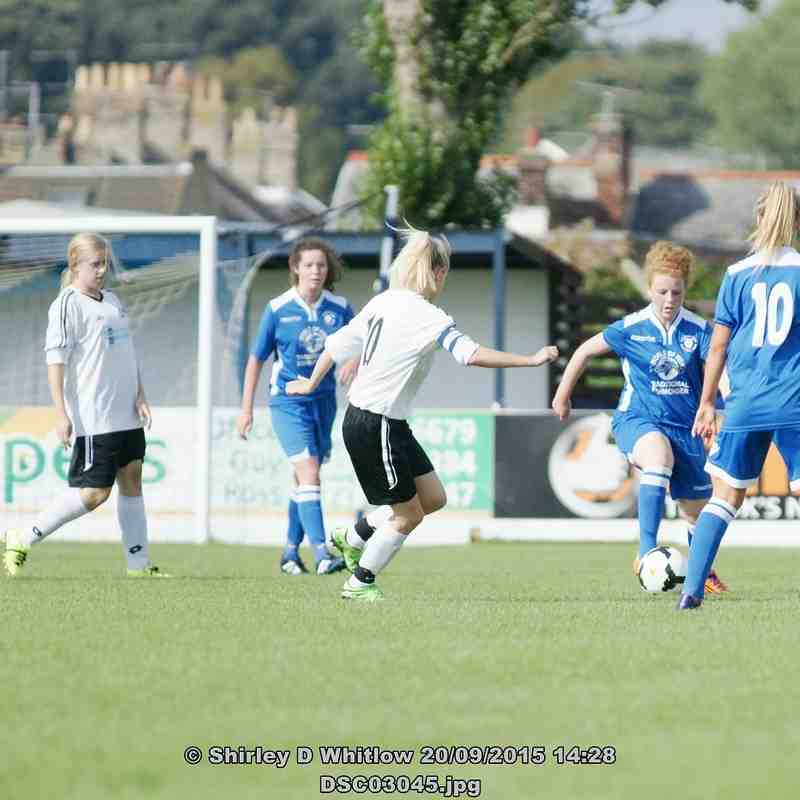 Lowestoft Ladies v Bedford LFC (Sunday 20th September 2015)