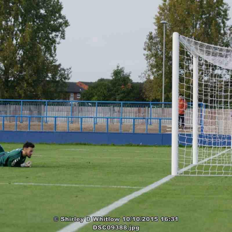 Curzon Ashton V Lowestoft Town ( Saturday 10 October 2015)