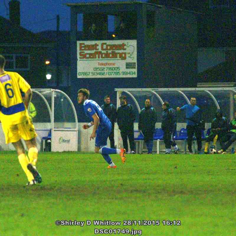 Lowestoft Town V St Albans City (Saturday 28 November 2015)