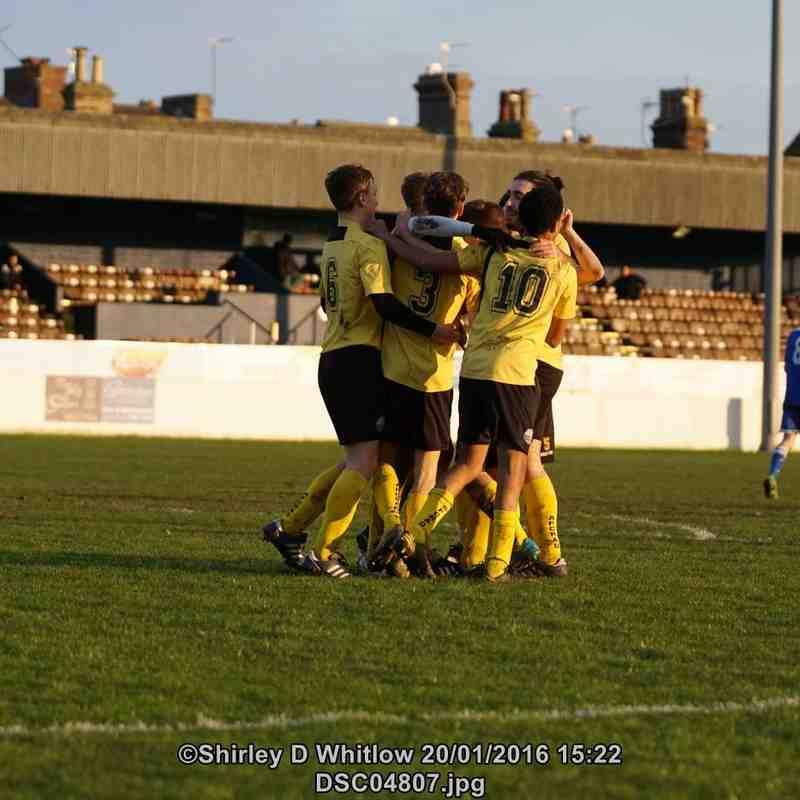 Lowestoft Youth Alliance V AFC Rushden and Diamonds (Wednesday 20 January 2016)