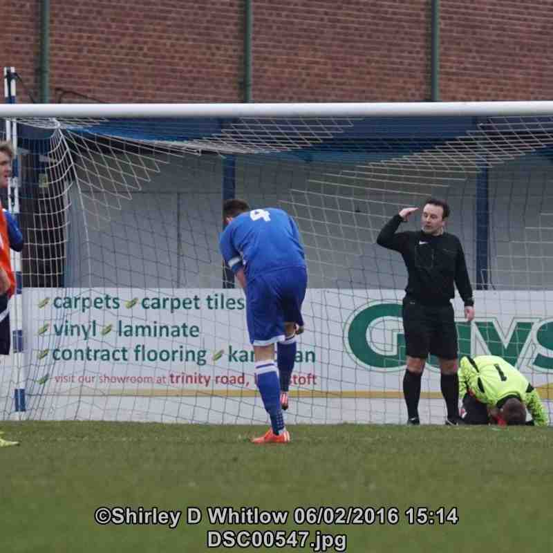 Lowestoft Town Reserves V Diss Town Reserves (Saturday 6 February 2016)