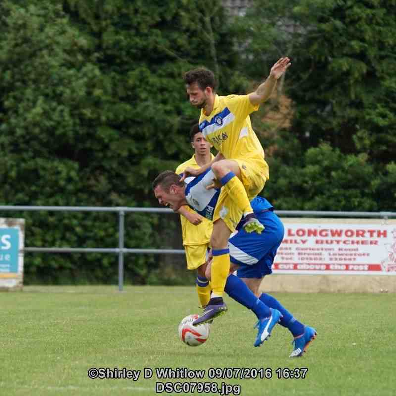 Kirkley and Pakefield v Lowestoft Town friendly (Saturday 9 July 2016)