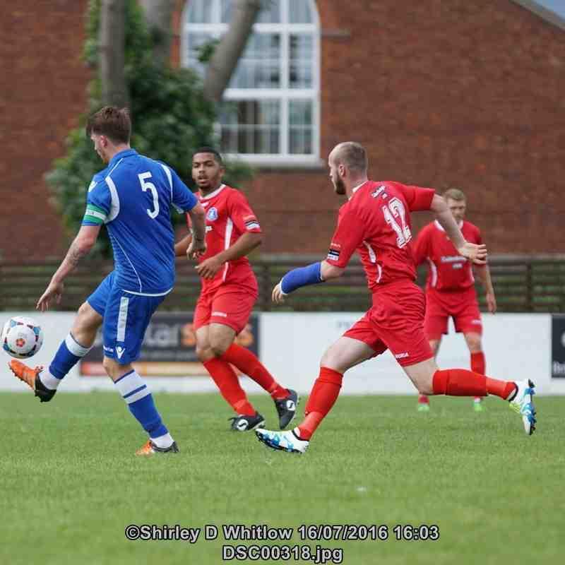 Lowestoft Town v Wroxham FC friendly (Saturday 16 July 2016)