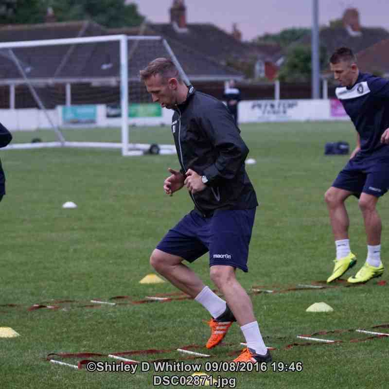 Lowestoft Town Training (Tuesday 9 August 2016)