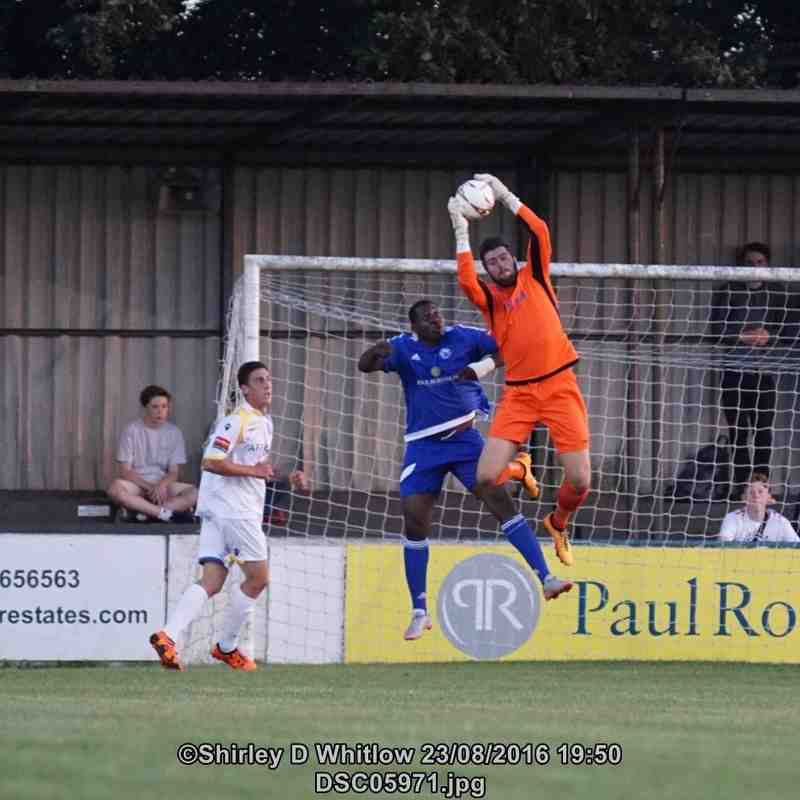 Billericay Town v Lowestoft Town (Tuesday 23 August 2016)