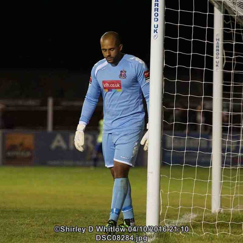 Lowestoft Town v Dulwich Hamlet (Tuesday 4 October 2016)