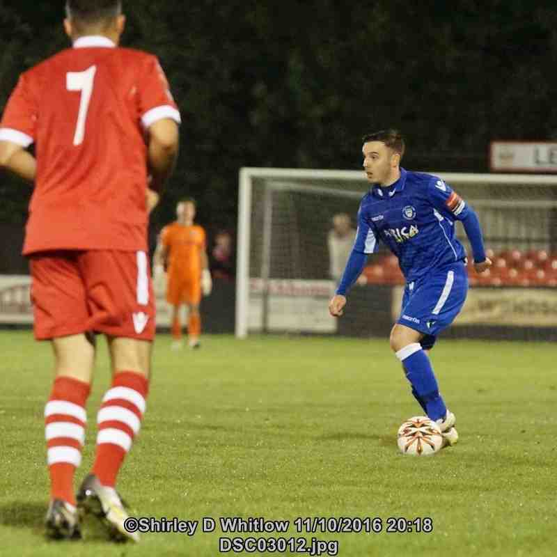 Needham Market v Lowestoft Town (Tuesday 11 October 2016)