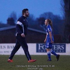 Lowestoft Ladies v Old Actonians (Sunday 18 December 2016)