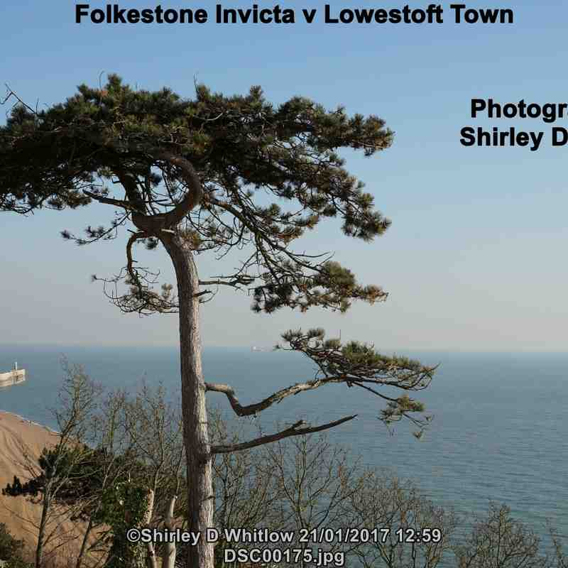 Folkestone Invicta v Lowestoft Town (Saturday 21 January 2017)