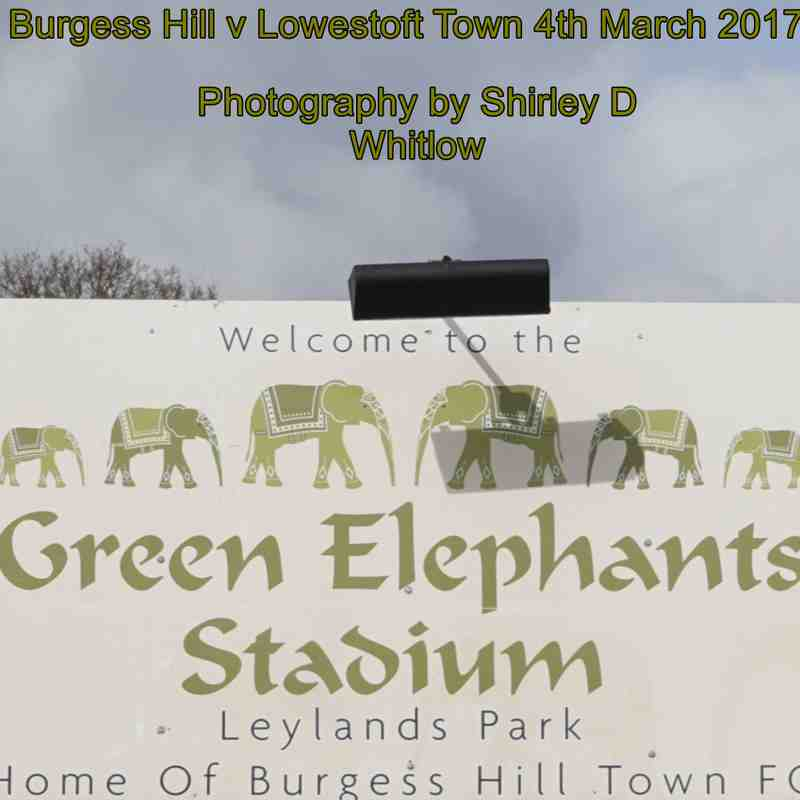 Burgess Hill v Lowestoft Town Saturday 4 March 2017)