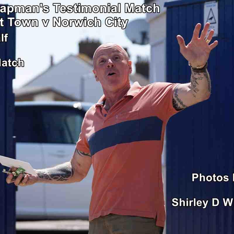 Micky Chapman's Testimonial Match Lowestoft Town v Norwich City 2nd half (Saturday 8 July 2017)