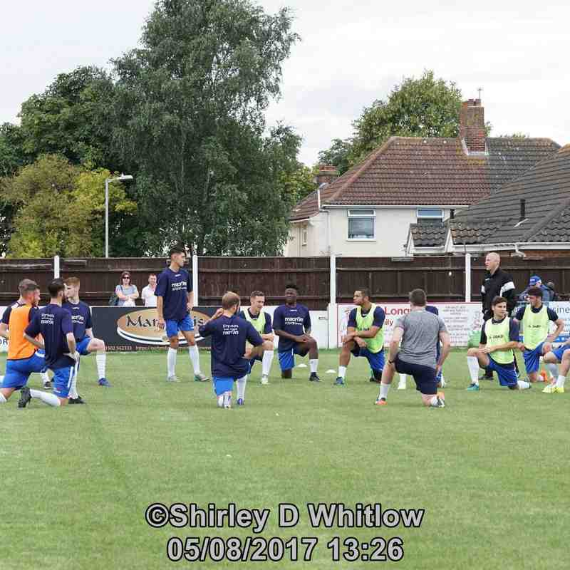 Lowestoft Town v Kings Lynn friendly (Saturday 5 August 2017)