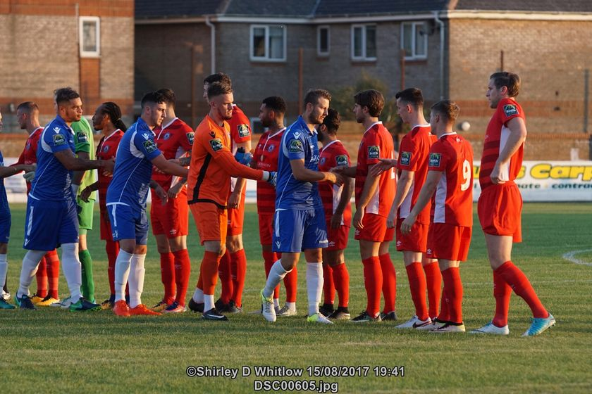 Billericay vs Lowestoft re-arranged