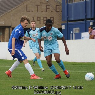 Lowestoft U19's 1-6 Borehamwood