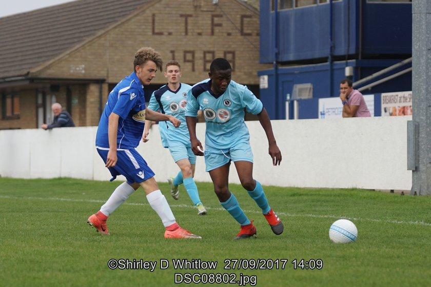 Lowestoft U19's 1-6 Borehamwood