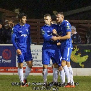 Lowestoft Town 3-1 Leatherhead