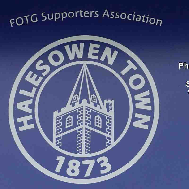 Halesowen Town v Lowestoft Town (Saturday 11 August 2018)
