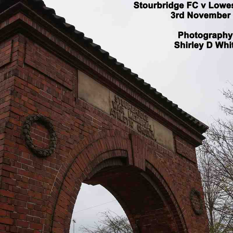 Stourbridge FC v Lowestoft Town (Saturday 3 November 2018)