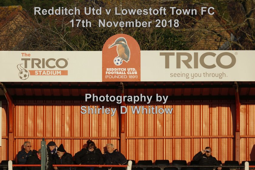 Redditch Utd v Lowestoft Town (Saturday 17th November 2018)