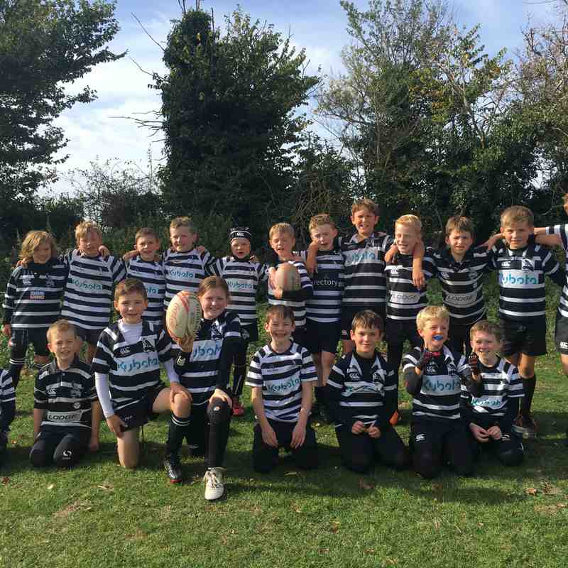 Chinnor U9 at Buckingham Festival October 7th 2018