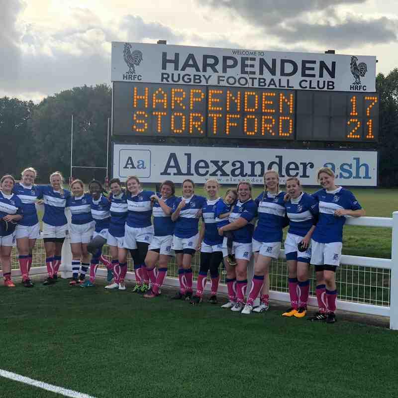 Harpenden Vs BSRFC Ladies