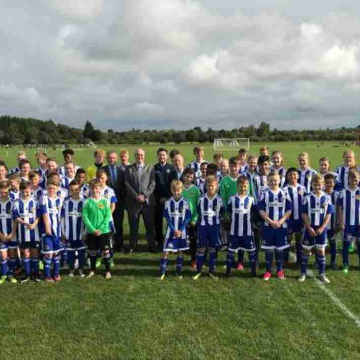Perdiswell sports pitches declared open after £330,000 Worcester City Council investment