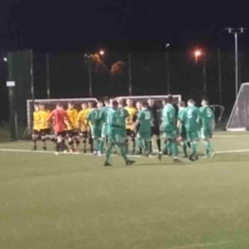 Floodlit Worcester City vs Alvechurch