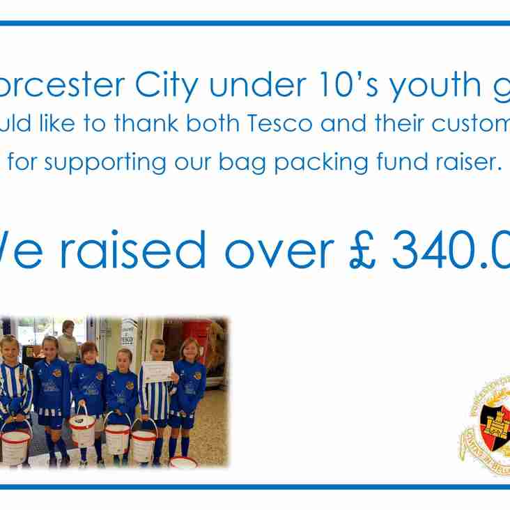 City U10 Girls Go Fundraising!