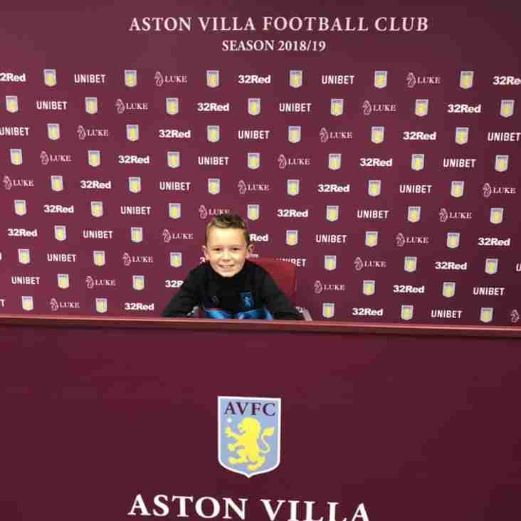 City boy signs for Villa