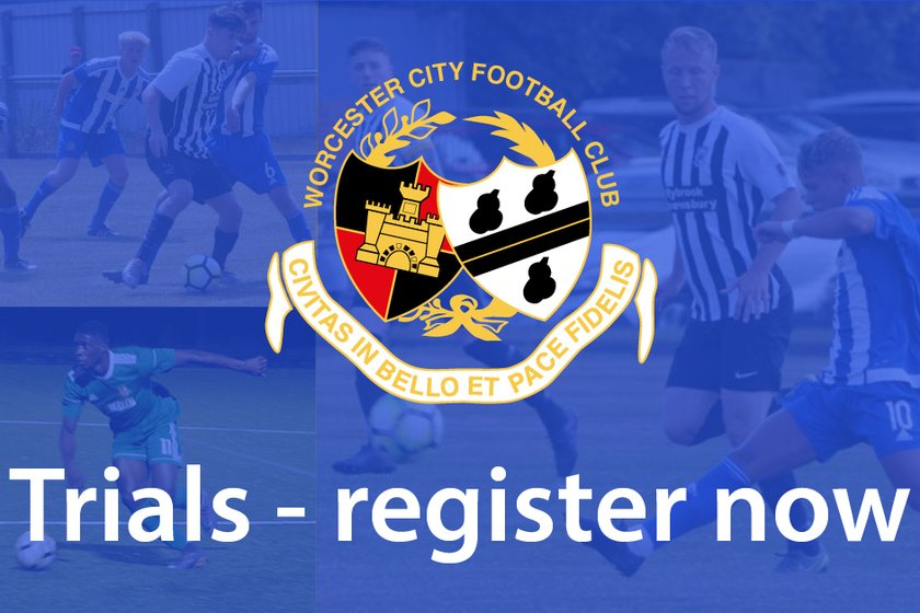 Worcester City Youth FC - 2019/2020 Trials