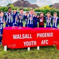 City U10s Win The Walsall Phoenix Tournament!